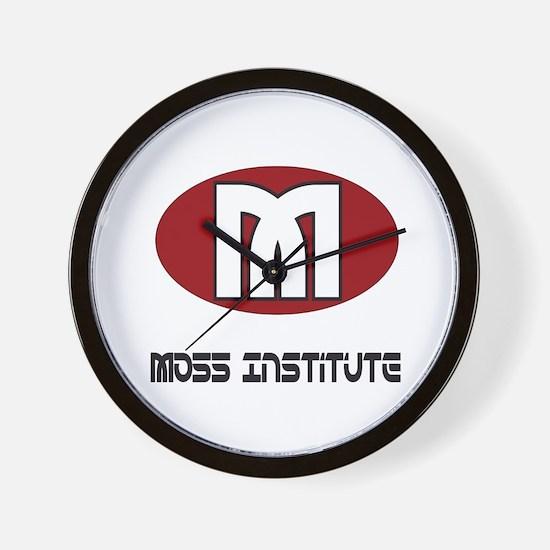 Moss Institute Wall Clock