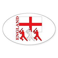 England Cricket Oval Sticker (10 pk)