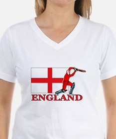 English Cricket Player Shirt