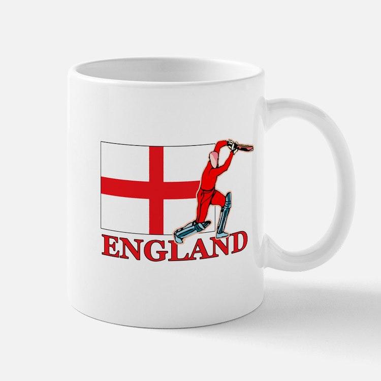 English Cricket Player Mug