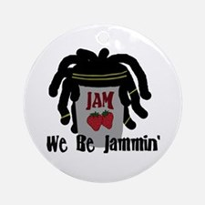 Riyah-Li Designs We Be Jammin Ornament (Round)