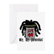 Riyah-Li Designs We Be Jammin Greeting Card