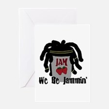 Riyah-Li Designs We Be Jammin Greeting Card
