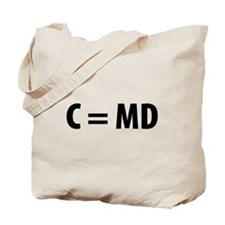 Med Student C=MD Tote Bag