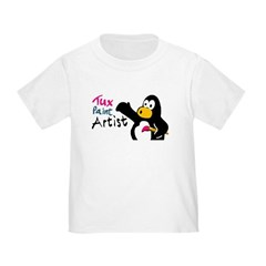 """Tux Paint Artist"" Toddler T-Shirt"