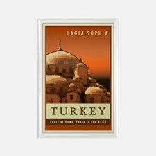 Turkey Rectangle Magnet
