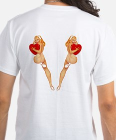 Valentine Pin Up Girl Shirt