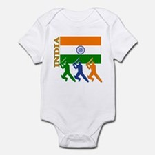 India Cricket Infant Bodysuit