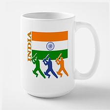 India Cricket Large Mug