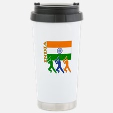 India Cricket Travel Mug