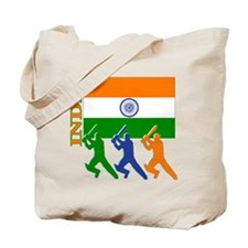 India Cricket Tote Bag