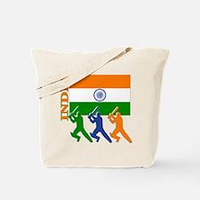 India Cricket Tote Bag