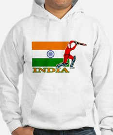 India Cricket Player Hoodie