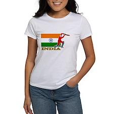 India Cricket Player Tee