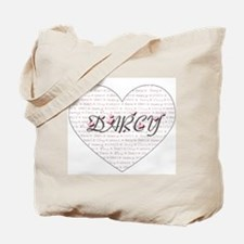 Darcy Heart Tote Bag