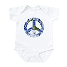 World Peace Sign East Infant Bodysuit