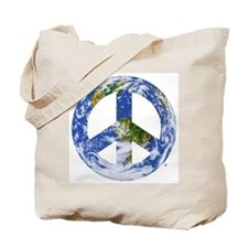 World Peace Sign East Tote Bag