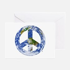 World Peace Sign East Greeting Cards (Pk of 10)