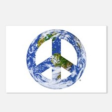World Peace Sign East Postcards (Package of 8)