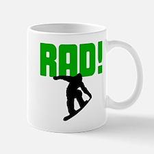 Rad Snowboarder Mug