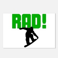 Rad Snowboarder Postcards (Package of 8)