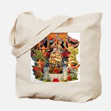 Victorian Valentine Big Canvas Gift Tote Bag