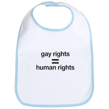 gay rights = human rights Bib