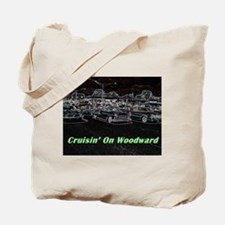 """Cruisin' On Woodward"" Tote Bag"