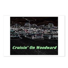 """Cruisin' On Woodward"" Postcards (Package of 8)"