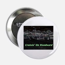 """Cruisin' On Woodward"" 2.25"" Button"