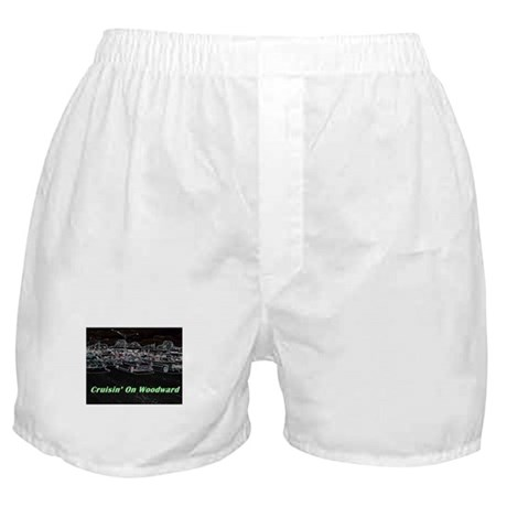 """Cruisin' On Woodward"" Boxer Shorts"