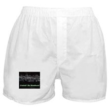 """""""Cruisin' On Woodward"""" Boxer Shorts"""