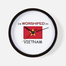 I'm Worshiped In VIETNAM Wall Clock