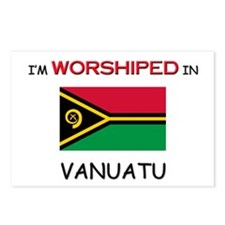 I'm Worshiped In VANUATU Postcards (Package of 8)