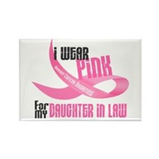 I Wear Pink For My Daughter-In-Law 33 Rectangle Ma