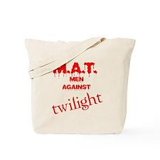 M.A.T. Men Against Twilight Tote Bag