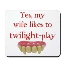 Yes, my wife likes to twiligh Mousepad