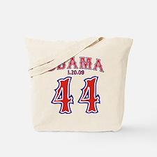 obama 44 Tote Bag