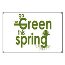 Green This Spring Banner