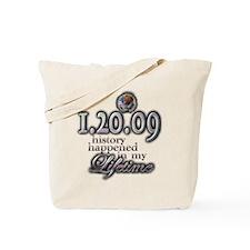 1.20.09 history - Tote Bag