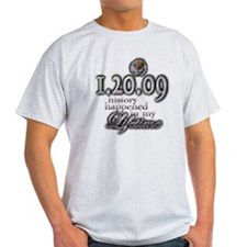 1.20.09 history - T-Shirt