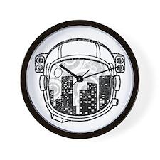 Riyah-Li Designs Cityscape Wall Clock