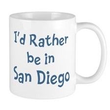 Rather be in San Diego Mug