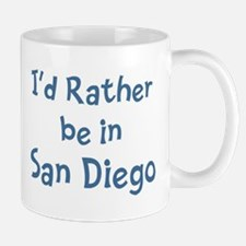 Rather be in San Diego Small Small Mug