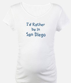 Rather be in San Diego Shirt