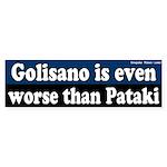 Golisano worse than Pataki bumper sticker