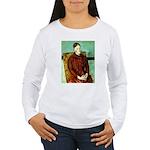 Yellow Chair Women's Long Sleeve T-Shirt