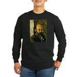 Self Portrait Long Sleeve Dark T-Shirt