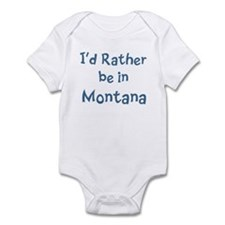 Rather be in Montana Infant Bodysuit