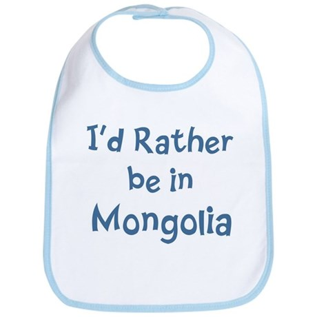 Rather be in Mongolia Bib
